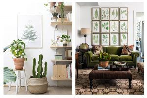 interior design greenery trend color